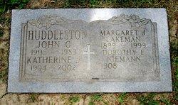 Katherine J <i>Lakeman</i> Huddleston
