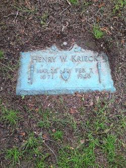 Henry William Krieck