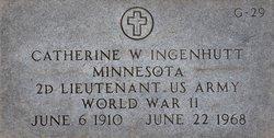 Lieut Catherine W. Ingenhutt