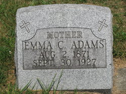 Emma Catherine <i>Lawrence</i> Adams