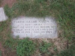Sgt Curtis Grubb Bud Culin, III
