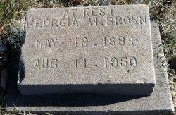Georgia W. Brown
