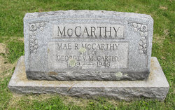 Mae R <i>Bickert</i> McCarthy