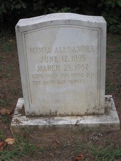 Mimia <i>Prewitt</i> Alexander