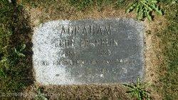 John Franklin Jack Abraham