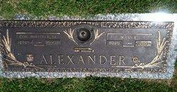 CDR Burton Francis Alexander, Sr
