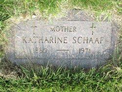 Katherine Schaaf