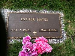 Esther <i>Hernandez</i> Hayes