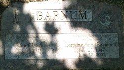Lorraine Ann <i>Raymond</i> Barnum