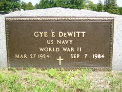 Gye E Dewitt