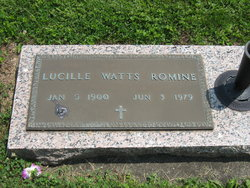Lucile Unith <i>Thomas</i> Romine