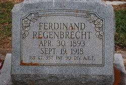 Lieut Ferdinand Regenbrecht