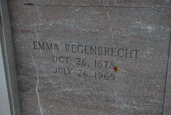 Emma <i>Krause</i> Regenbrecht