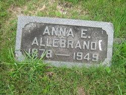 Anna E <i>Marquardt</i> Allebrand