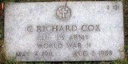 C Richard Cox