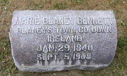 Marie <i>Blaney</i> Bennett