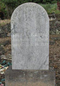 Mrs L. Kaaua