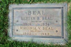 Virginia V <i>Johnston</i> Beal