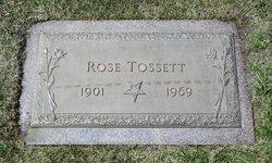 Rose <i>Brown</i> Tossett