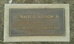 Donald D Allison, Jr