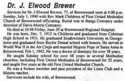 Jerome Elwood Brewer