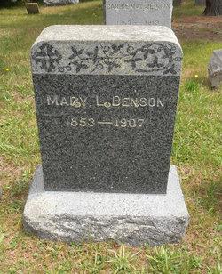Mary Louise <i>Robbins</i> Benson