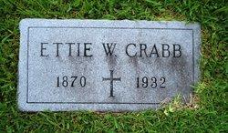 Ettie T <i>Wilson</i> Crabb