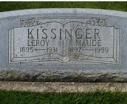 Maude <i>Eisley</i> Kissinger