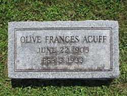 Olive Frances <i>Reeves</i> Acuff