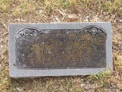 Harry C Acker