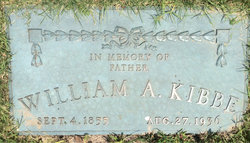 William Alfred Kibbe