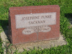 Josephine <i>Knoll</i> Sackman