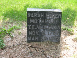 Sarah <i>Baker</i> Alderman Smith