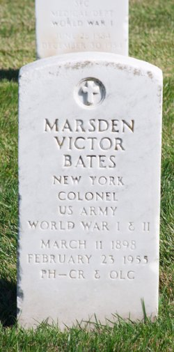 Marsden Victor Bates