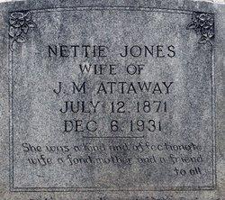 Nettie <i>Jones</i> Attaway