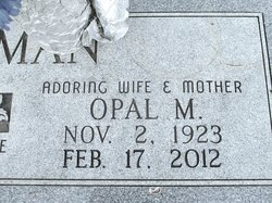 Opal Mae <i>Arnett</i> Ackerman