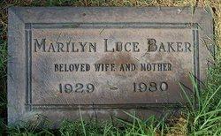 Marilyn Dixie <i>Luce</i> Baker