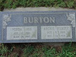 Archibald Hunter Archie Burton