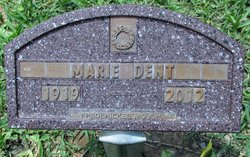 Marie Louise <i>Gaither</i> Dent