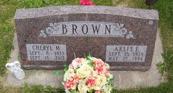 Cheryl M <i>Mahar</i> Brown