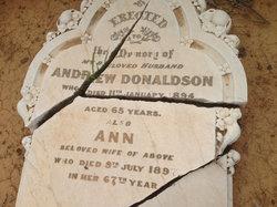 Anne <i>Orr</i> Donaldson