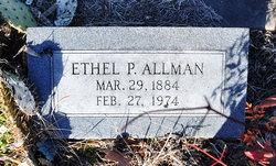 Ethel Penelope <i>Scott</i> Allman