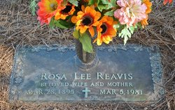 Rosa Lee Reavis