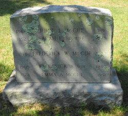 Frederick A McCue