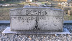 Frances Fannie <i>Moseley</i> Bonner