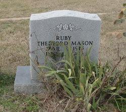 Ruby <i>Thedford</i> Mason