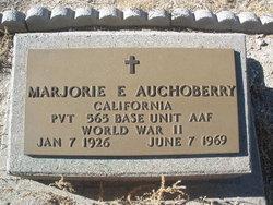 Pvt Marjorie E Auchoberry