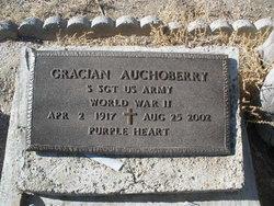 Sgt Gracian Auchoberry
