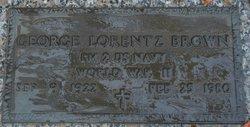 George Lorentz Brown