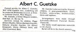 Albert Guetzke